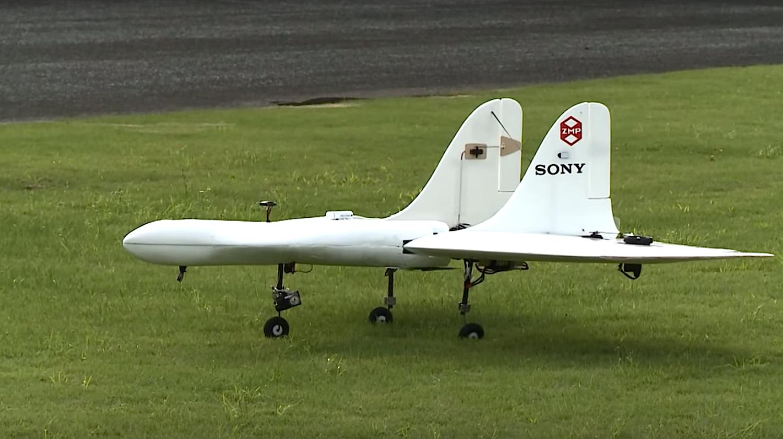 AS-DT01-E von Aerosense: Die Drohne erreicht eine Höchstgeschwindigkeit von 170 km/h.