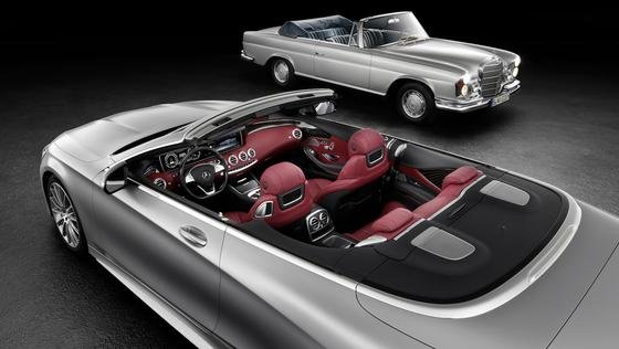 An das legendäre S-Cabrio, das bis in die 70er Jahre gebaut wurde, will Mercedes mit dem neuen Modell anknüpfen.