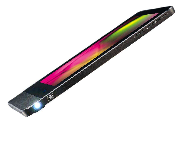 Neben einem Mico-USB-Port verfügt das Tablet über einen 3,5-mm-Klinkenanschluss, ein Mikrofon, GPS und einen Beschleunigungssensor. Auch seitlich eingebaute Stereo-Lautsprecher finden Platz in dem handlichen Gerät.