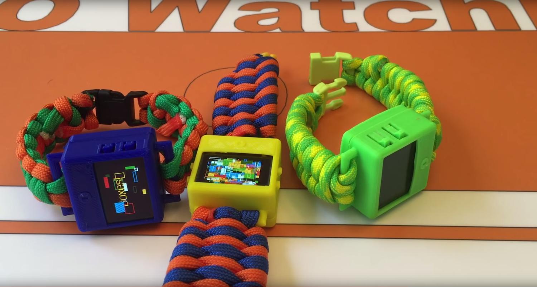 O Watch vonOmkar Govil-Nair:Für den Smartwatch-Bausatz muss man bei Kickstarter 109 $ investieren.