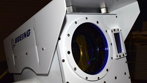 Boeings Compact Laser Weapon System: Die Laserkanone lässt sich in vier Kisten transportieren und innerhalb von 15 Minuten aufbauen.