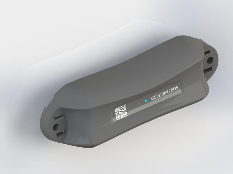Der GSE-Tracker ist nur48x170 mm groß, verfügt über ein GPS-Modul und ist mit zwei kleinen Lithium-Penlite-Akkus ausgestattet, die drei bis fünf Jahre halten sollen.