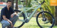 3D-Drucker produziert kompostierbaren Fahrradrahmen