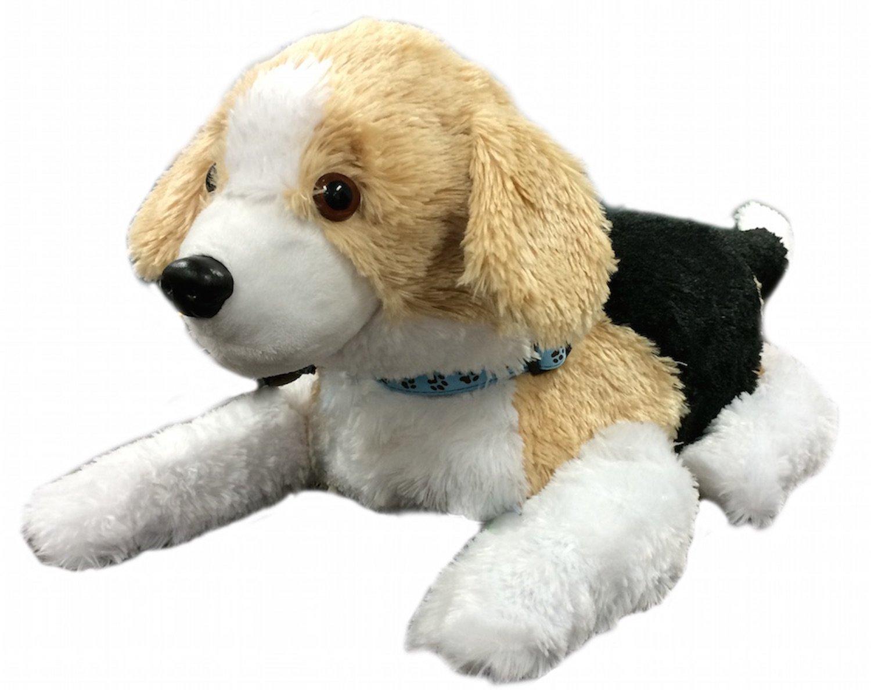 Vorlage für den Therabot ist der schlappohrige Beagle. Studien hatten gezeigt, dass Menschen dieser Hunderasse am meisten Vertrauen entgegenbringen.