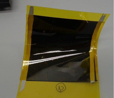 Flexible Heizschicht auf Karbonfolie: Auf der Internationalen Automobil-Ausstellung IAA vom 17. bis zum 27. September 2015 in Frankfurt wollen die IPA-Wissenschaftler einen ersten Demonstrator ihrer Folienheizung vorstellen.