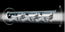 Schweizer liefern Technologie für Elon Musks Überschallzug