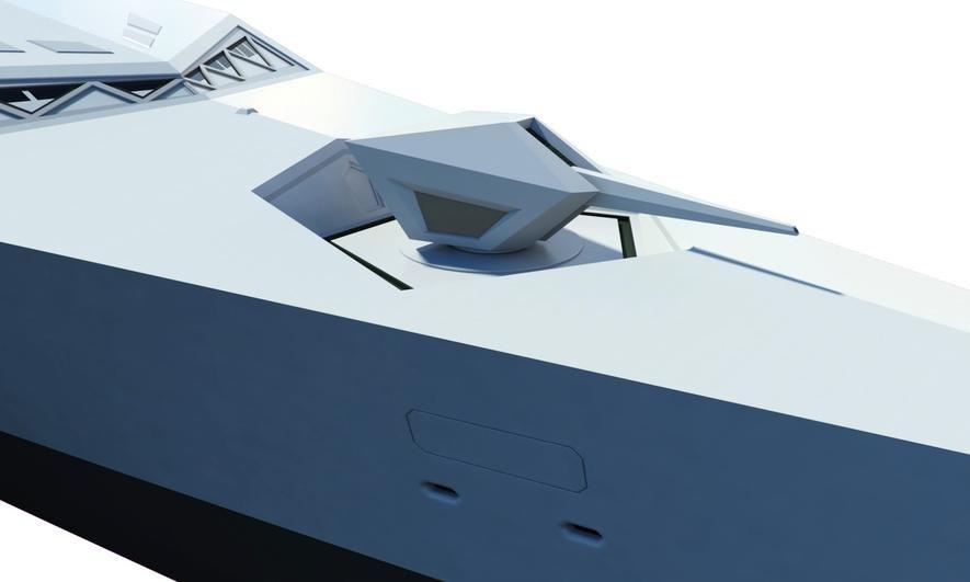 Britische Designer entwerfen Kriegsschiff der Zukunft