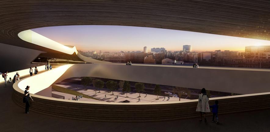 Nach Olympiadebakel: Zaha Hadid legte neue Entwürfe vor
