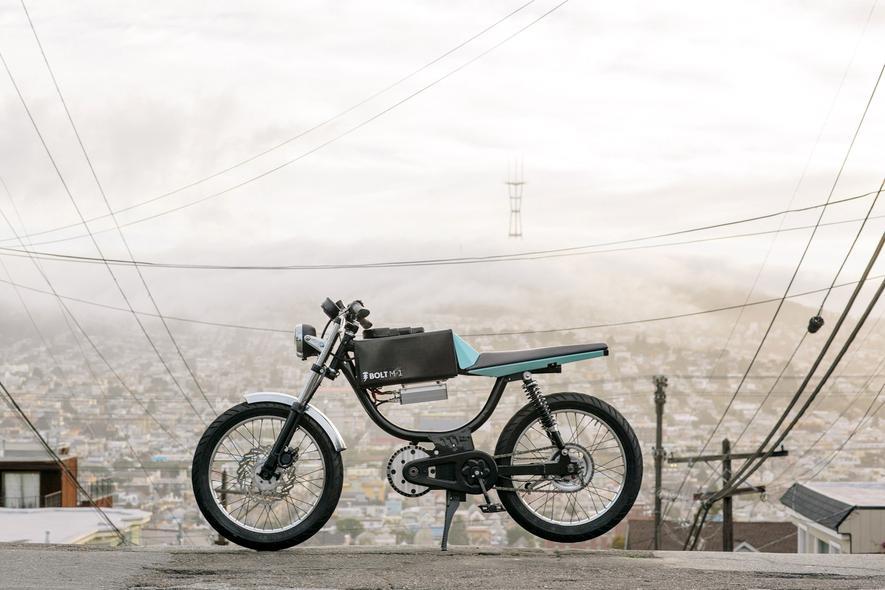 Das Bolt M-1 ist E-Fahrrad und E-Moped in einem.