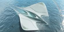 Gigantische schwimmende Stadt für Meeresforscher