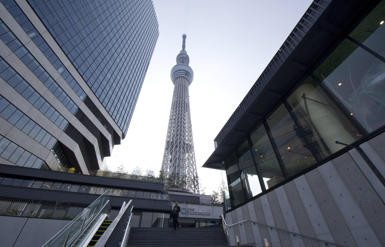 Tokyo Sky Tree: Der 634 m hohe Fernsehturm ist das zweithöchste Gebäude der Welt.