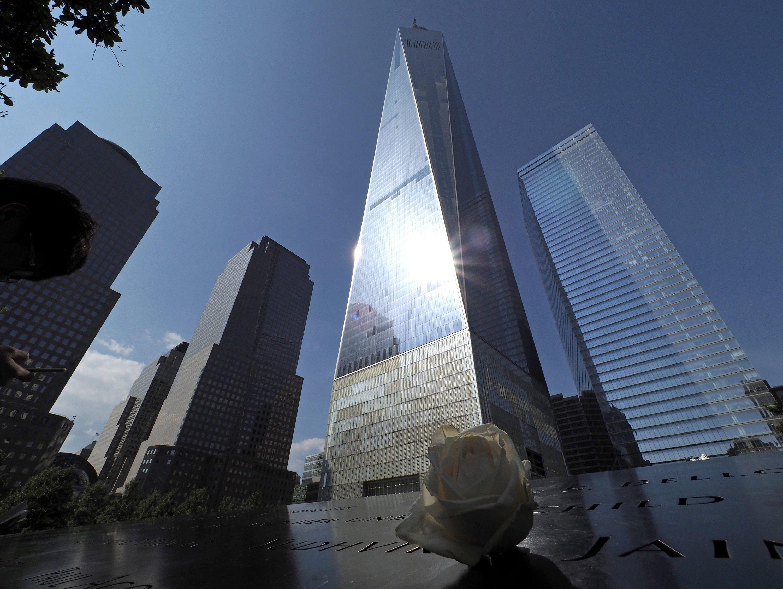 Das neue World Trade Center ist 541 m hoch. Platz sieben im Ranking der höchsten Wolkenkratzer.