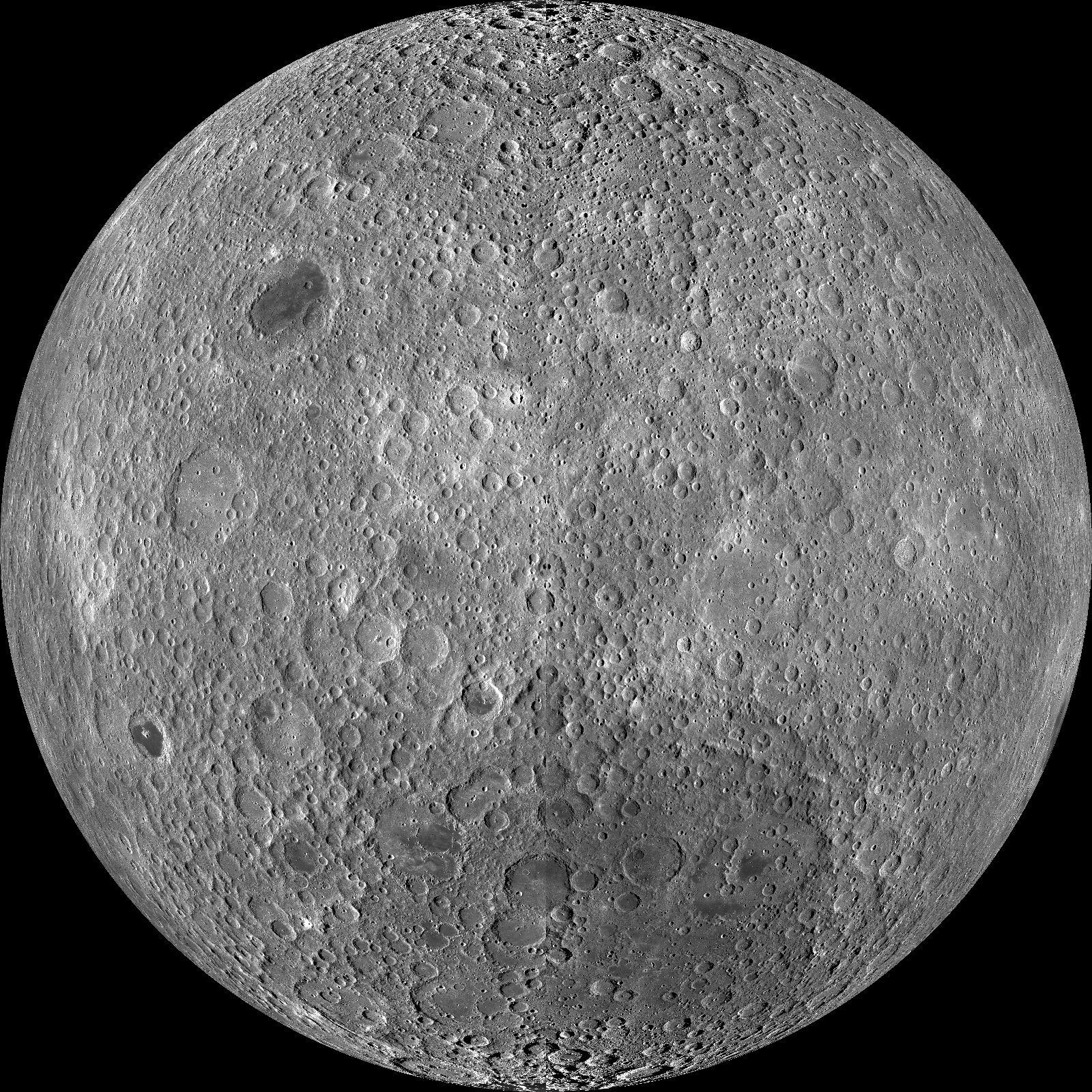 Die erdabgewandte Seite des Mondes: Hier sind die geologischen Bedingungen bisher wenig erforscht.Die Chinesen wollen mit ihrer Sonde Chang'e-4 die ersten sein, die dort landen und den blinden Fleck genauer untersuchen.