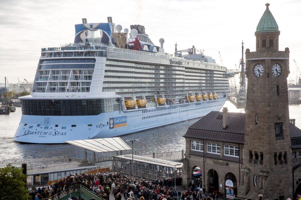 Die größten Kreuzfahrtschiffe der Welt