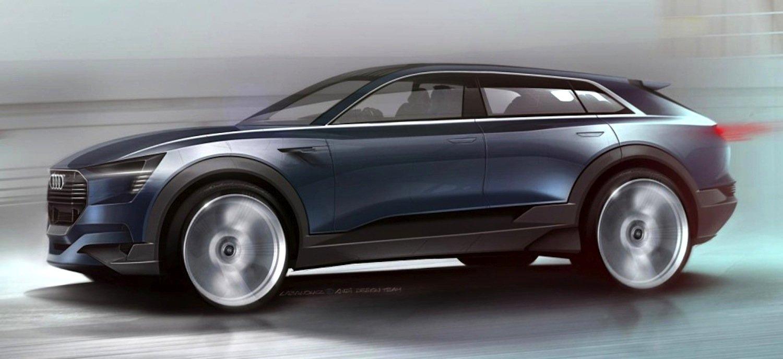 Audi e-tron quattro concept: Der Elektro-SUV beschleunigt in unter 4 s von 0 auf 100 km/h.