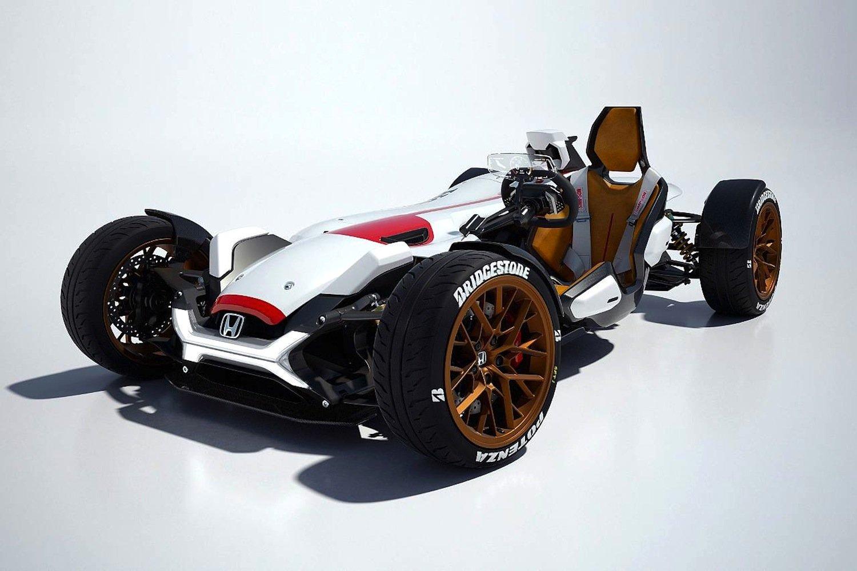Honda Project 2&4 sollFahrgefühl von Auto und Motorrad miteinander verbinden.