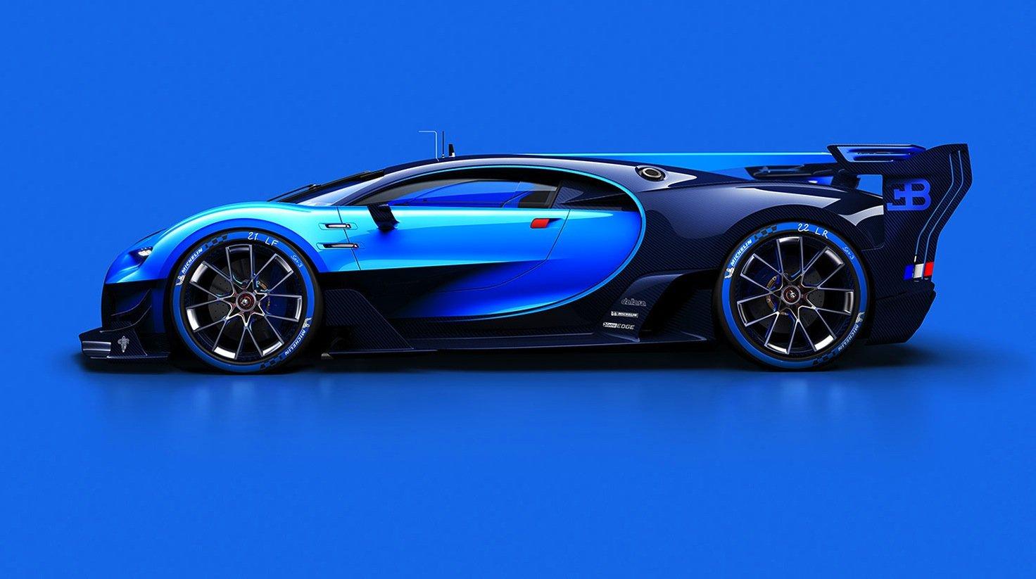 Bugatti Vision Gran Turismo: Das Auto soll als Bugatti Chiron 2,2 Millionen € kosten.