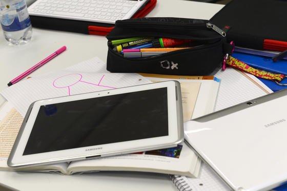 Rein statistisch müssen sich in Deutschland 4,2 Schüler einen Computer teilen.