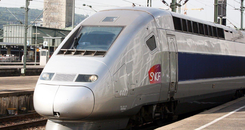 Der TGV kann Geschwindigkeiten von über 500 km/h erreichen.