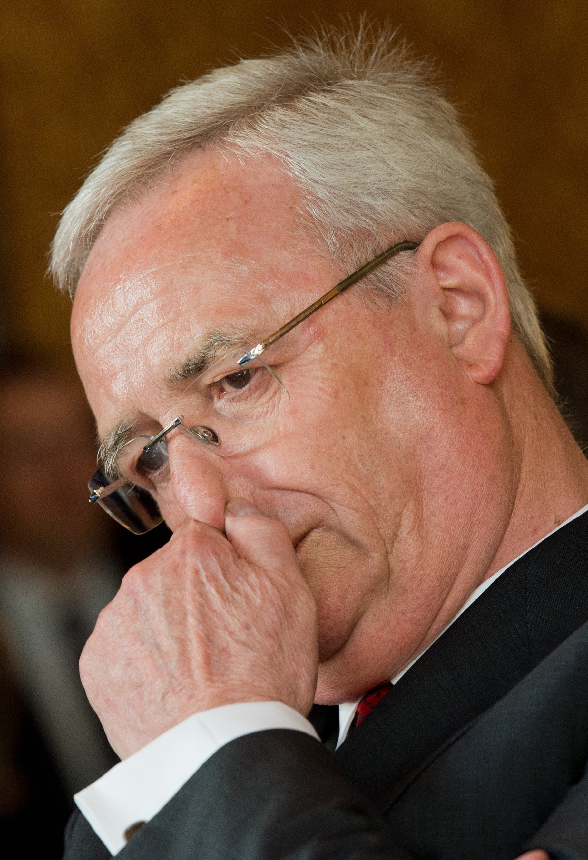 Muss sich auch an die eigene Nase fassen: VW-Chef Martin Winterkorn.