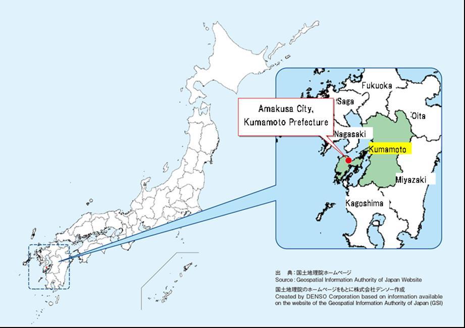 In der Präfektur Kumamoto soll eine der größten Testanlagen in Japan für die Herstellung von Biosprit aus Algen entstehen.