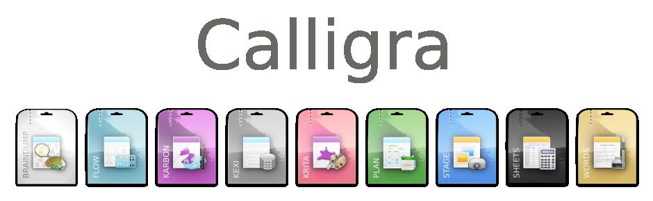 Die Office-Suite von Calligra