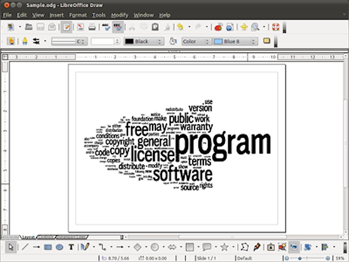 LibreOffice derDocument Foundation