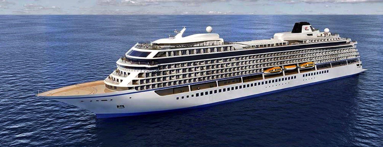 Die Sky von Viking Ocean Cruises: Der Ozeanriese zählt laut Nabu zu den schlimmsten Umweltsündern.