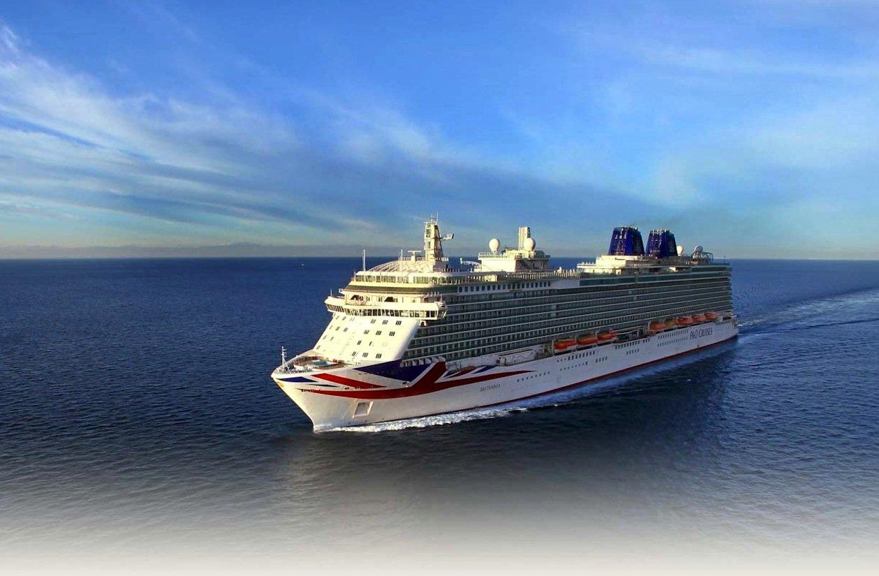 Die Britannia von P&O Cruises fährt mit Schweröl und einem dieselelektrischen Antrieb.