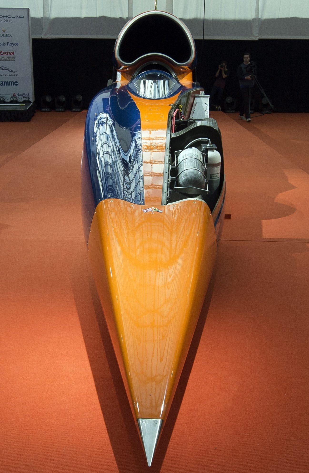 Die Leistung des Bloodhound SSC entspricht 180 Formel-1-Wagen.