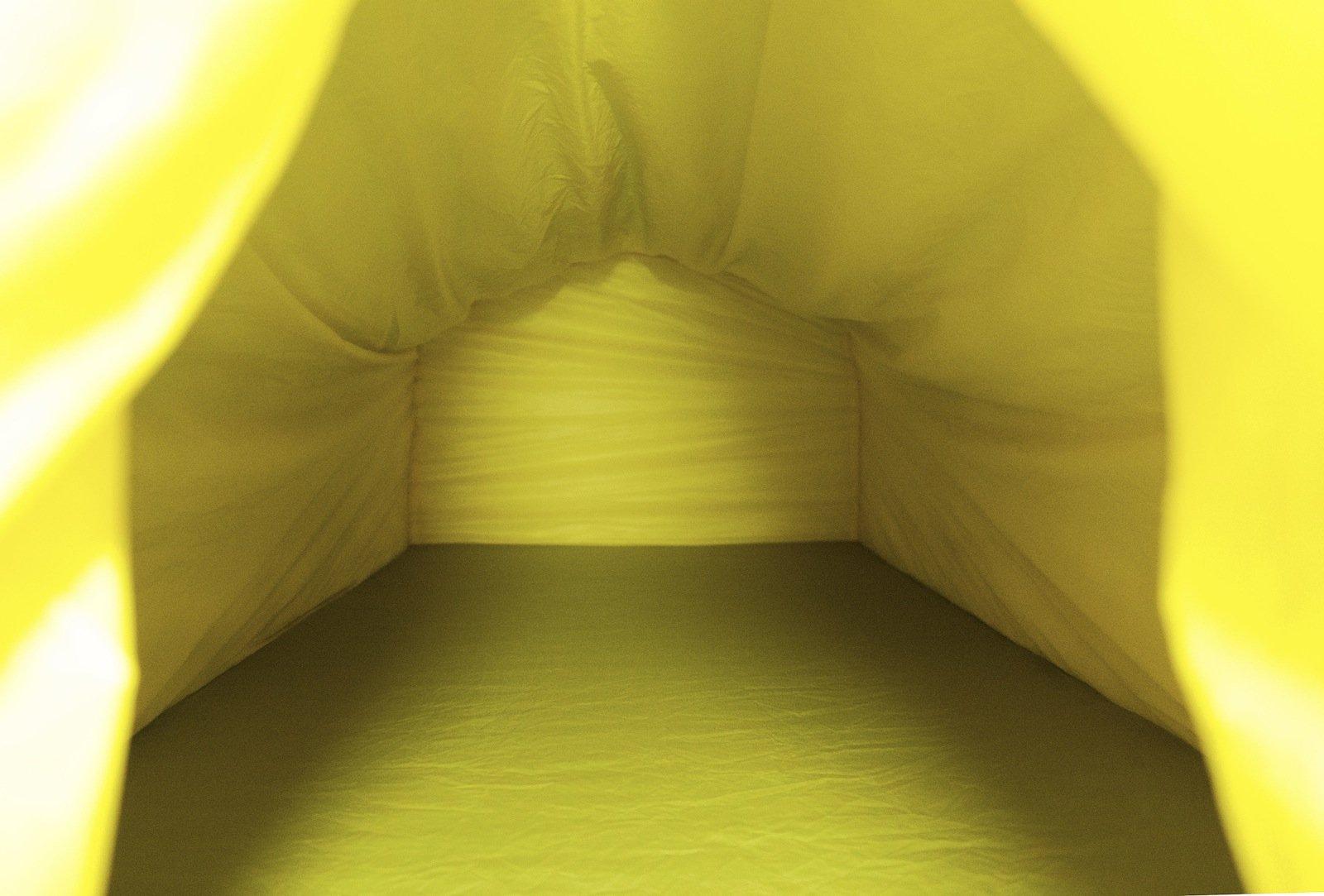 Innenraum des Polarmond-Schlafsystems.