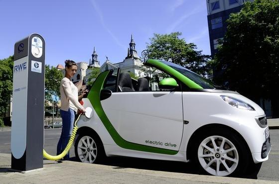 Der E-Smart von Daimler ist eines der erfolgreichsten Elektroautos in Deutschland.