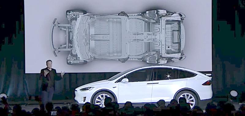 Mit zweijähriger Verspätung präsentierte Tesla-Chef Elon Musk am Dienstag den neuen Elektro-SUV Tesla X.