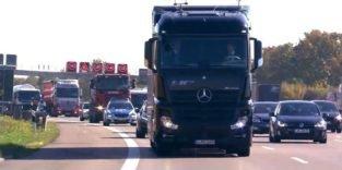 Daimler schickt selbstfahrenden Lkw auf die Autobahn