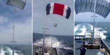 Ungewöhnlich: USA testen Drachen als Mast für Kriegsschiffe