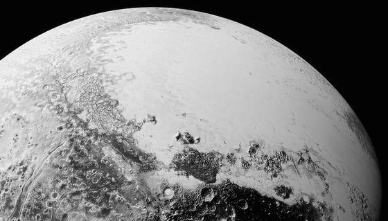 Eine der neuesten Aufnahmen von Pluto. Aufgenommen von der Nasa-Raumsonde New Horizon.