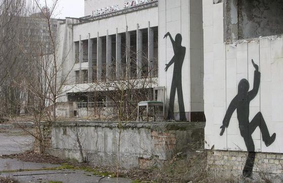 """Geisterstädte nach der Reaktorkatastrophe in Tschernobyl 1986: Wegen der radioaktiven Strahlung gibt es ein 4200 km<custom name=""""sup"""">2</custom> großes menschenleeres Sperrgebiet um Tschernobyl. Wildtiere haben dieses Gebiet offenbar für sich entdeckt. So leben in der Region heute offenbar mehr als vor dem Unglück."""