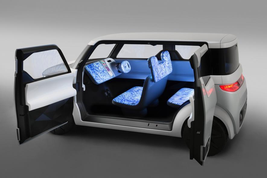 Teatro for Dayz von Nissan: Internet total in einem Auto