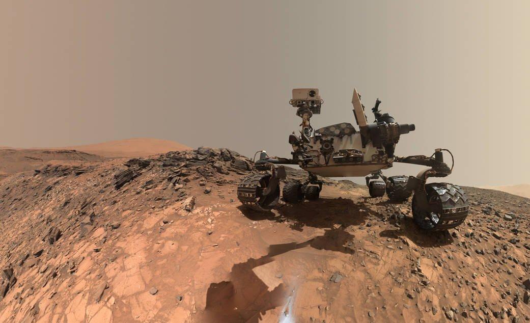 Der Nasa-Rover Curiosity ist seit drei Jahren auf dem Mars unterwegs.