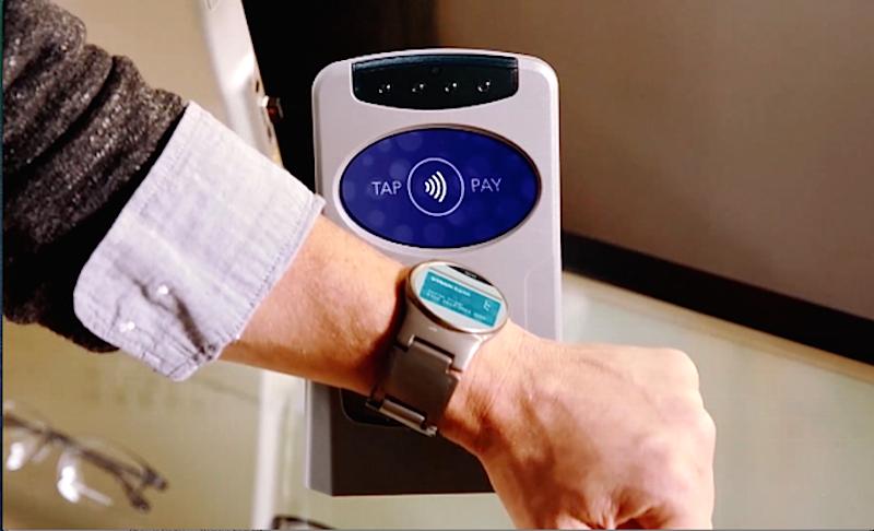 Bis zur Produktreife entwickelt ist ein NFC-Chip, der unter anderem das bargeldlose Bezahlen vereinfachen soll.