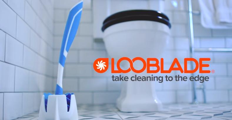 LooBlade verspricht Sauberkeit bis in die letzte Ecke.