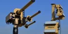 Drohnenabwehr AUDS: Kanone beschießt Flugobjekt mit Radiowellen