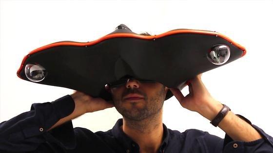Sehen wie einChamäleon: Das ermöglicht eine neueAugmented-Reality-Brille, die Ingenieure in London entwickelt haben.