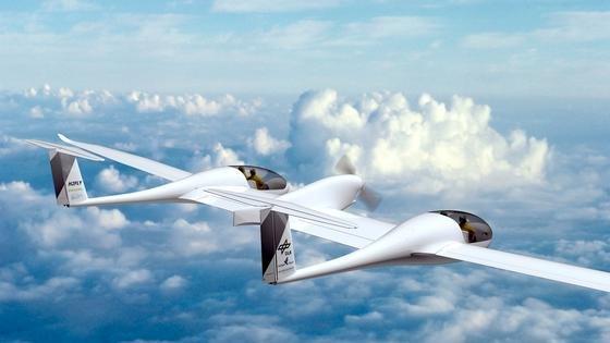 HY4 des DLR: Das Flugzeug hat eine Brennstoffzelle an Bord, die Wasserstoff und Sauerstoff in Wasser und elektrische Energie umwandelt. Die vier Passagiere sollen in zwei getrennten Kabinen sitzen. Der Erstflug ist für Mitte 2016 vom Flughafen Stuttgart aus geplant.