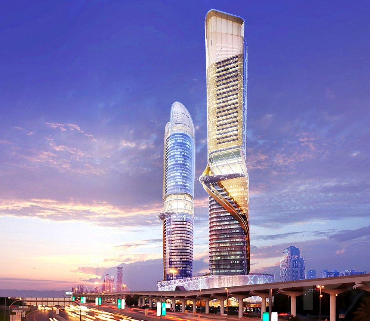 Die beiden Rosemont Tower entstehen in erstklassiger Lage an der Hauptverkehrsader Sheikh Zayed Road in Dubai.