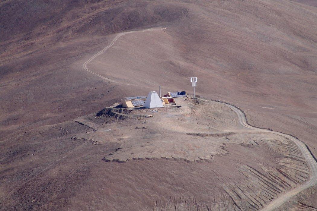 Weltbester Standort für astronomische Beobachtungen:Atacama-Wüste.