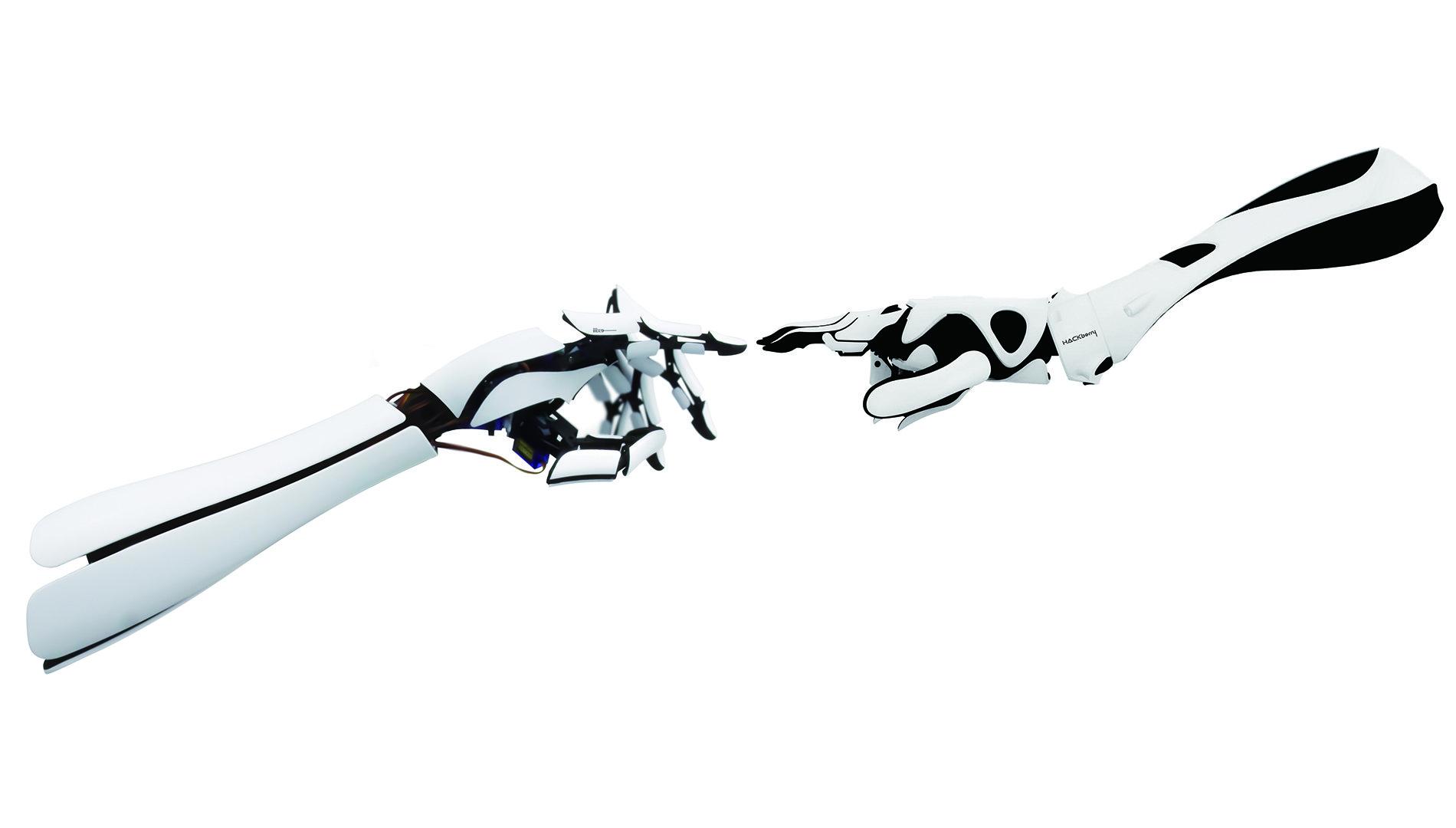 Mit Fingerspitzengefühl und cool anzuschauen: die bionische Prothese HACkberry von exiii.