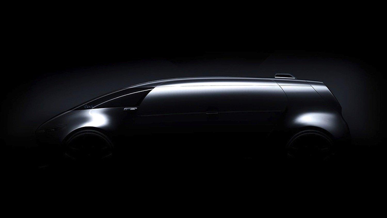 Teaserbild von Mercedes: Zeigt der Autohersteller auf der Tokio Motor Show einen selbstfahrenden Van?
