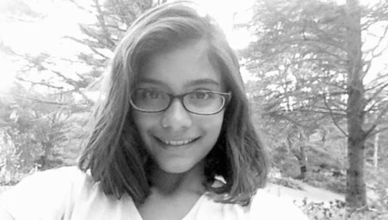 """Mira Modi: Die Sechstklässlerin verkauft im Internet sichere Passwörter für zwei Dollar. Der Kunde erhält die """"Ware"""" per Post."""