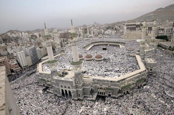 Auch die Pilgerfahrt nach Mekka wird bei Außentemperaturen von60 °C kaum noch möglich sein.